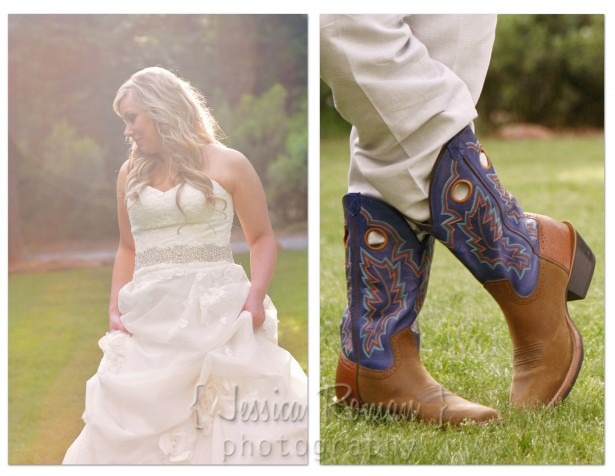 bride and groom style