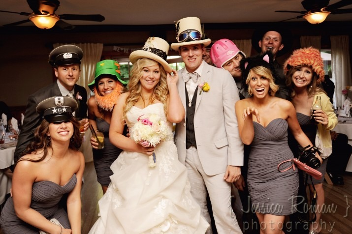 wedding party pictorial