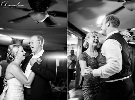 wedding dance with the parents
