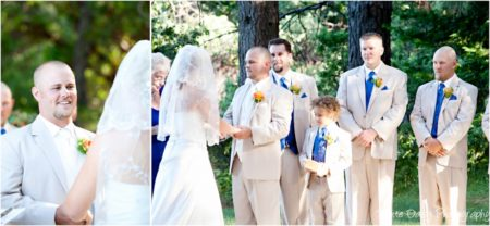 wedding vows at forest house lodge