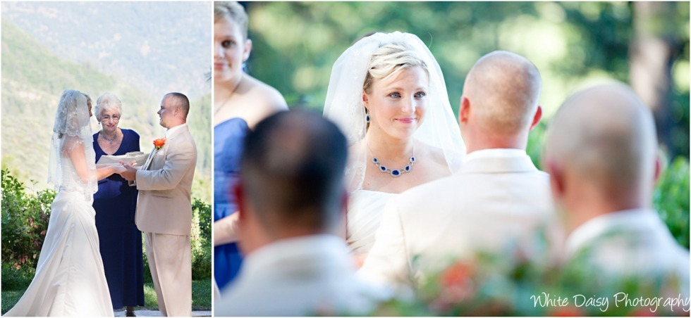 wedding vows foresthill forest house lodge